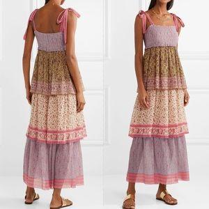 ZIMMERMANN Juniper tiered printed maxi dress 0